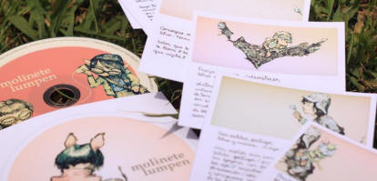 Foto: Pistilo Records invita y lanza su última obra del 2012: el primer disco físico de Molinete Lumpen.